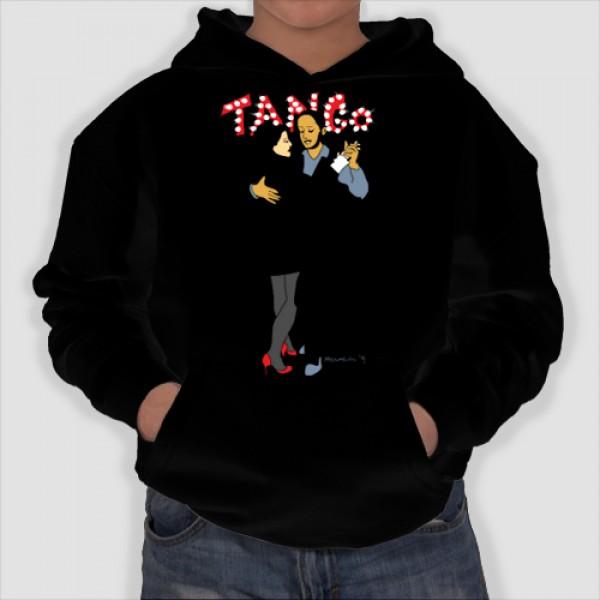 Tango | Φούτερ Παιδικό με Κουκούλα