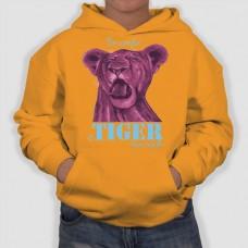 Tiger | Φούτερ Παιδικό με Κουκούλα