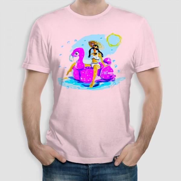 Φλαμίνκο   Τ-shirt Ανδρικό - Unisex Ανδρικό - Unisex