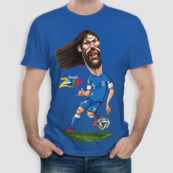 Σαμαράς | Τ-shirt Ανδρικό - Unisex