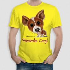 Κόργκι Πέμπροκ | Τ-shirt Ανδρικό - Unisex