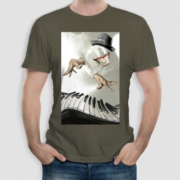 Drinking Piano | Τ-shirt Ανδρικό - Unisex