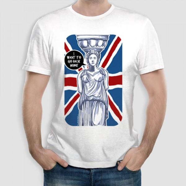 Καρυάτιδα | Τ-shirt Ανδρικό - Unisex