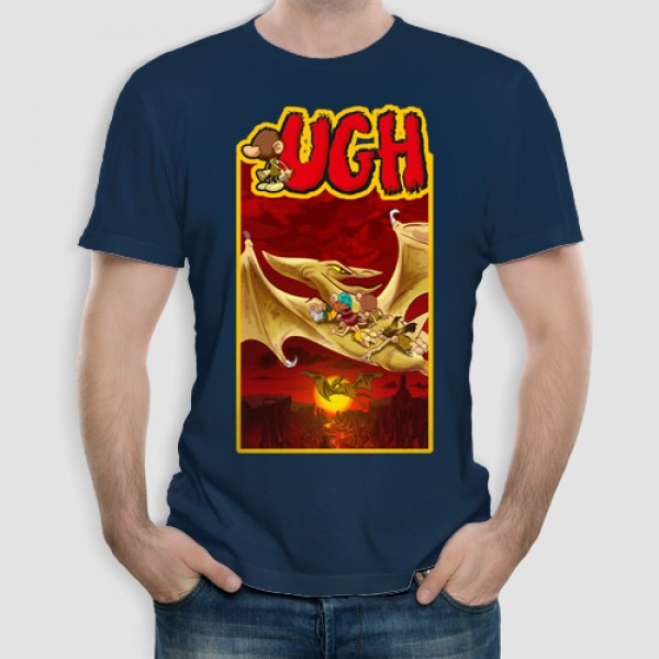 Ugh3 | Τ-shirt Ανδρικό - Unisex