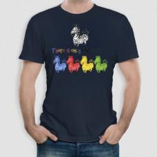 Ζέβρα | Τ-shirt Ανδρικό - Unisex