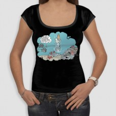Απέραντο Γαλάζιο | Τ-shirt Γυναικείο - Smile
