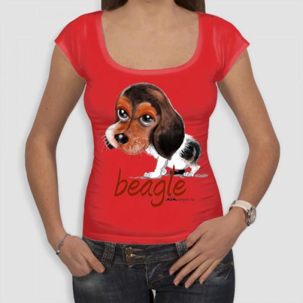 Μπιγκλ | Τ-shirt Γυναικείο - Smile
