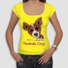 Κόργκι Πέμπροκ | Τ-shirt Γυναικείο - Smile