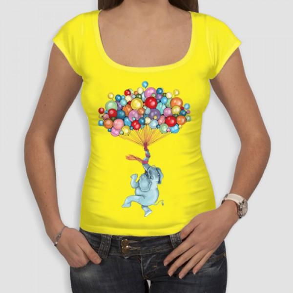 Ελέφαντας | Τ-shirt Γυναικείο - Smile
