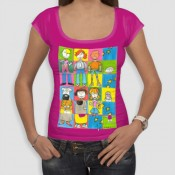 T-shirts Γυναικεία - Smile (69)