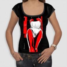Πλάτη | Τ-shirt Γυναικείο - Smile