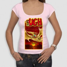 Ugh3 | Τ-shirt Γυναικείο - Smile