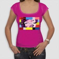 Χρώματα | Τ-shirt Γυναικείο - Smile