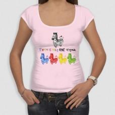 Ζέβρα | Τ-shirt Γυναικείο - Smile