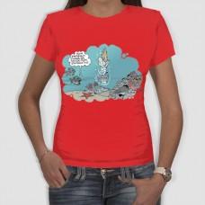 Απέραντο γαλάζιο | Τ-shirt Γυναικείο